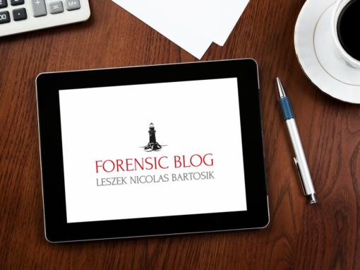 Forensic logo