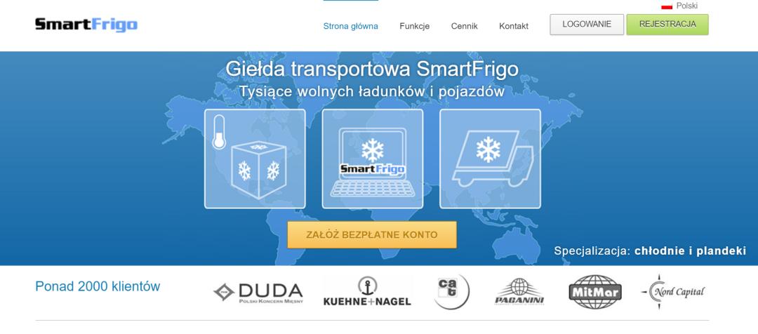 Giełda transportowa Smartfrigo